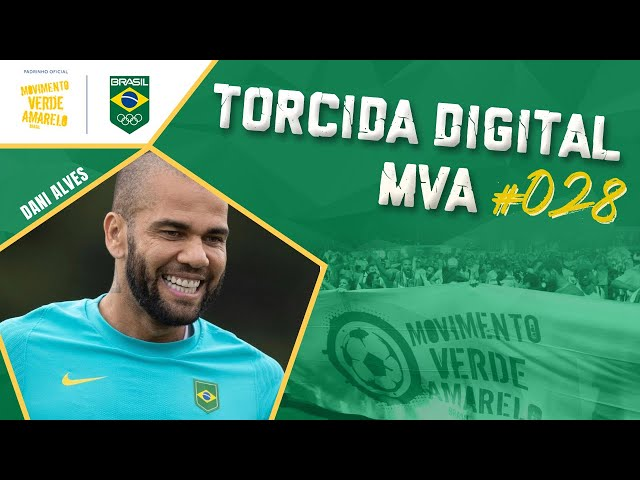 Torcida Digital MVA #028 - Tóquio 2020 - Semifinal do Futebol Masculino: Brasil x México