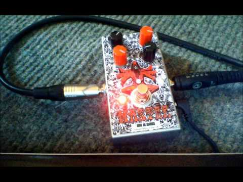 MASTER fuzz pedal - Nine of Swords Effects. Handcrafted in the UK