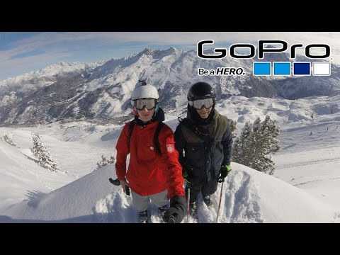 GoPro Hero 4 Session : Skiing in Méribel 2k16 Edit [HD]
