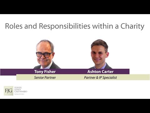 Legal Roles and Responsibilities within a Charity