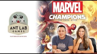 Marvel Champions Playthrough Review