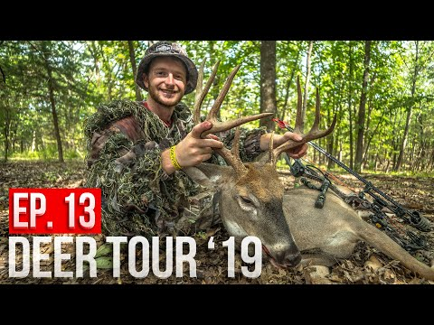 MISSOURI PUBLIC LAND BUCK!! - Dylan's First Buck With A BOW!