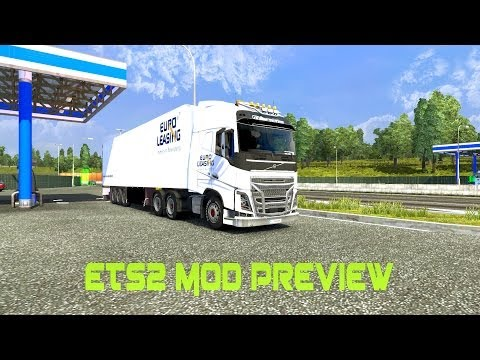Euro Truck Simulator 2 - Euro Leasing Pack Mod [FULL HD]