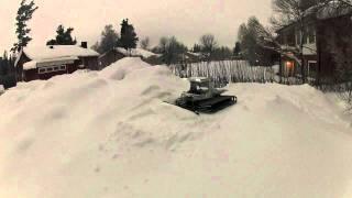 RC Pistenbully 600 1:8 - Testdrive in real snow
