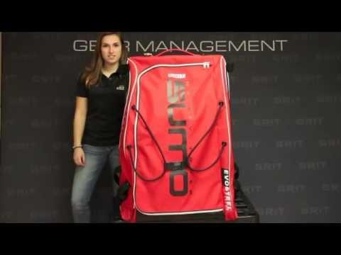 Grit Sumo Goalie Tower Hockey Bag