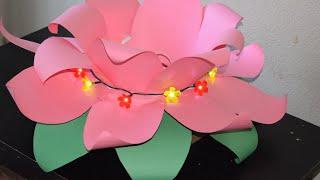 Eco-friendly Diwali decoration idea | Diwali decoration idea I Ganapati mandap | Lakshmi lotus asan