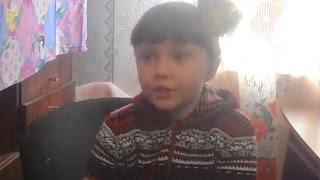 Урок украинского языка Софии 6 лет
