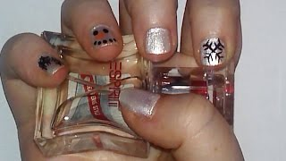 Snowman Nail Art Tutorial | Samantha Beauty Thumbnail