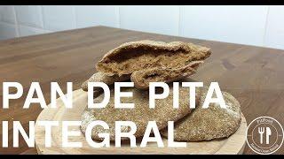pan de pita integral   recetas clean eating   fitfood