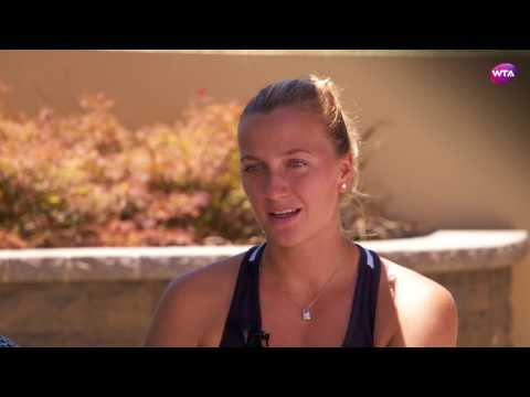 Petra Kvitova | 2017 Bank of the West Classic Pre-Tournament Interview