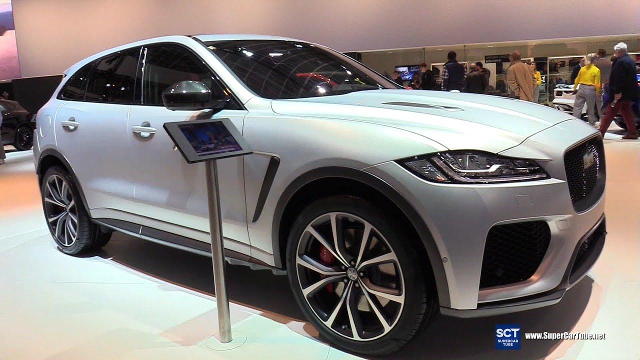 Khám phá mẫu xe Jaguar F-Pace phiên bản SVR Supercharged