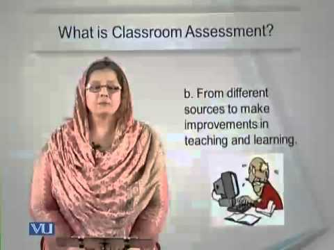Lecture 4 (EDU405 – Classroom Assessment)
