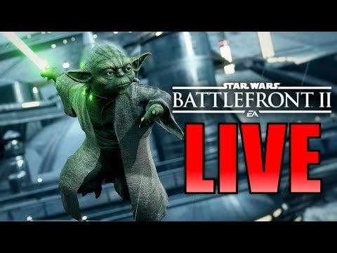 Star Wars Battlefront 2 LIVE! - (Hoth Skin Challanges, DLC Season 2 Discussion)