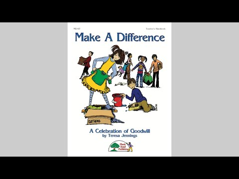 Make A Difference - MusicK8.com Musical Revue