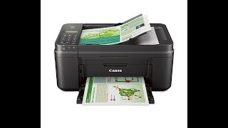 2017 11 30 UnBoxing Canon MX492 Wireless All IN One Small Printer, Print, Copy, Scan, Fax