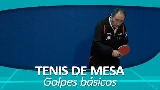 TENIS DE MESA 7. Golpes básicos