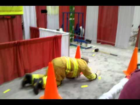 Globe Firefighter Challenge at FDIC 2011 (Indianapolis)