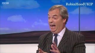 """Nigel Farage destroys Labour party """"unicorn"""" brexit"""