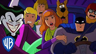 Scooby-Doo! & Batman: The Brave and the Bold | A Car Chase with the Joker! | WB Kids