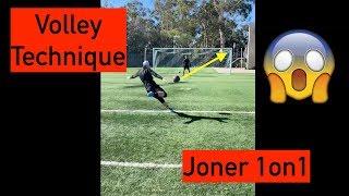 ❗️PURE VOLLEYS❗️⚽️ | Joner vs Shano | Joner 1on1 Football Training