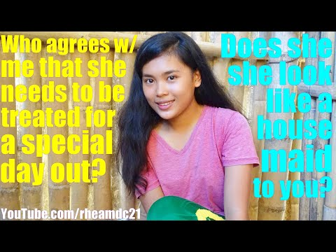 This Very Beautiful Young Filipina Lady Wants to Work as a Housemaid to Earn Money for Her Education