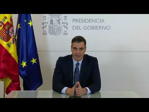 Sánchez agradece a las tropas sus servicios a España y el mundo en su mensaje de Nochebuena
