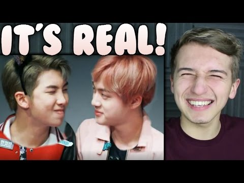 Namjin FLIRTY Moments Reaction (Namjoon / Rap Monster and Jin) | BTS