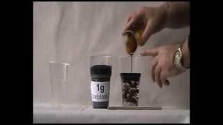 Собираем нефтепродукты в лабораторных условиях при помощи сорбентов и возвращаем нефть обратно(, 2016-06-08T09:18:33.000Z)