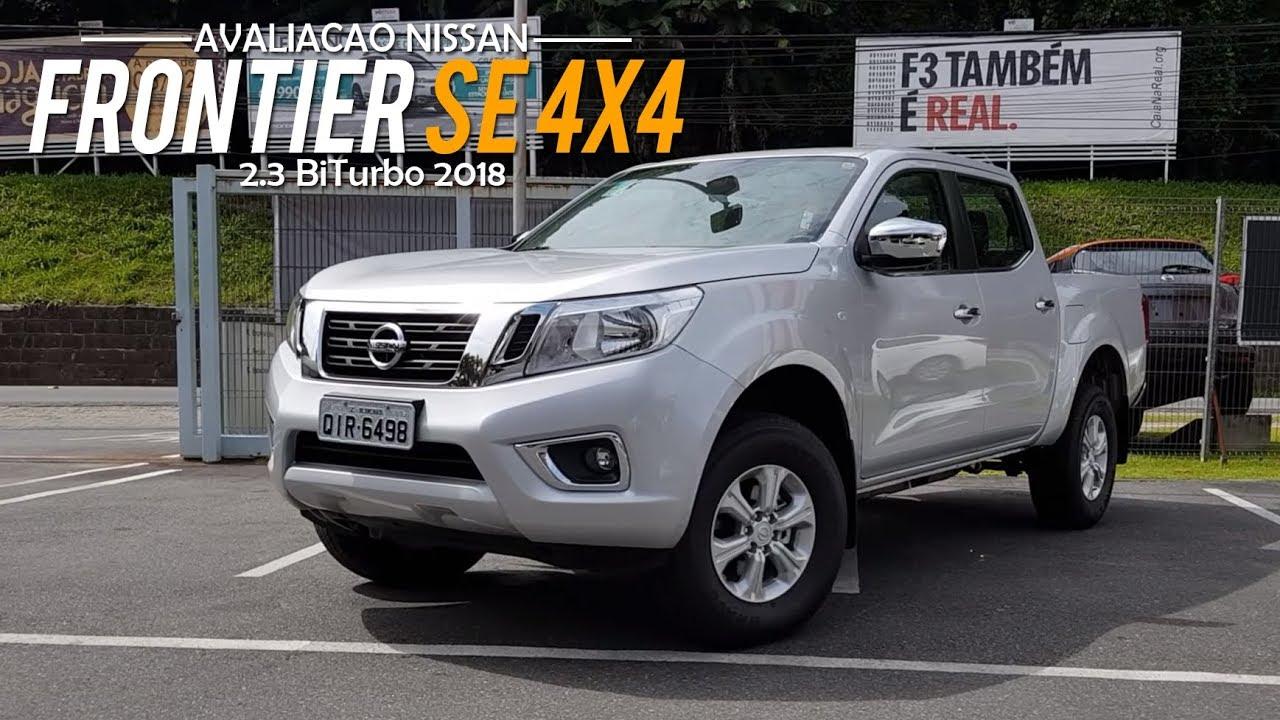 Avaliacao Nova Nissan Frontier Se 4x4 2 3 Biturbo 2018