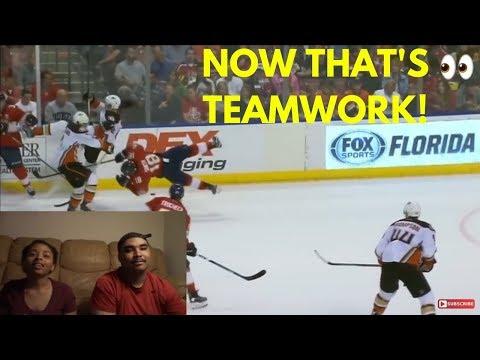 NHL Hardest Hits 16-17 Reaction!!!!