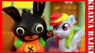 PLAN PODRÓŻY | BING vs HAPPY MEAL MY LITTLE PONY RAINBOW DASH | BAJKA DLA DZIECI