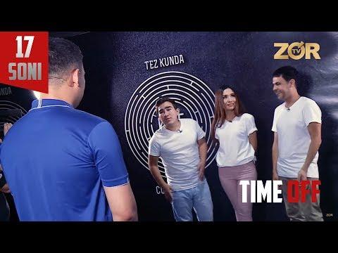 Time OFF 17-soni - Asqar Hikmatov, Baxtiyor Turg'unov, Shahnoza Ahmeova (15.08.2017)