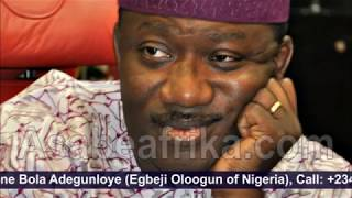 Fayemi will win Ekiti Guber Election and Fayose will go to jail--Egbeji Oloogun
