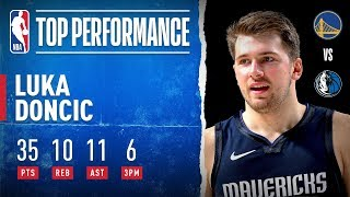 Luka Drops Triple-Double In THREE QUARTERS!