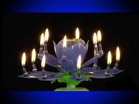 Wowzza Amazing Musical Birthday Candle