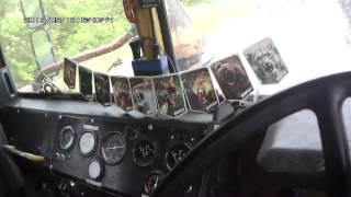Видео-урок управления трактором К-700А. Часть 2.