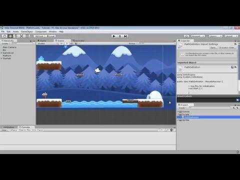 Unity 5. Hướng dẫn tạo di chuyển theo path - MovePlatform - Beginner tutorial.