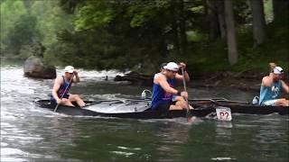 2018 - General Clinton Canoe Regatta - The start