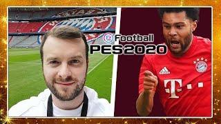 Domtendo in der Münchner ALLIANZ ARENA des FC BAYERN | PES2020 Event mit Konami & Serge Gnabry