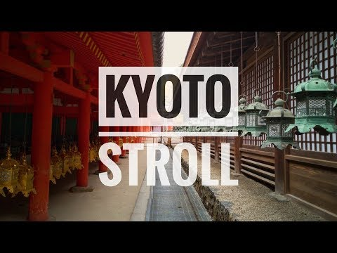 Walk around the streets of Kyoto | 4K | beat-tape in the background
