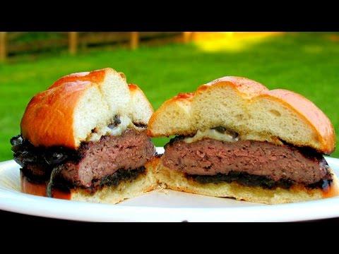 Grilled Wagyu Cheeseburger - Kobe Style Beef Burger Recipe