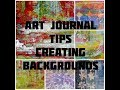 Art Journal Page - Backgrounds