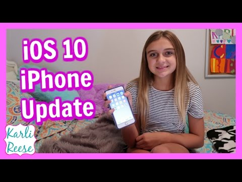 iOS 10 IPHONE FEATURES!