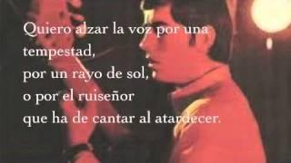 Ara que tinc vint anys. Joan Manuel Serrat (Letra Español). thumbnail