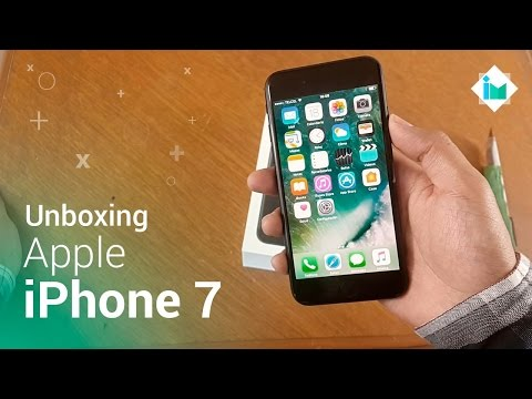 Apple iPhone 7 - Unboxing en español