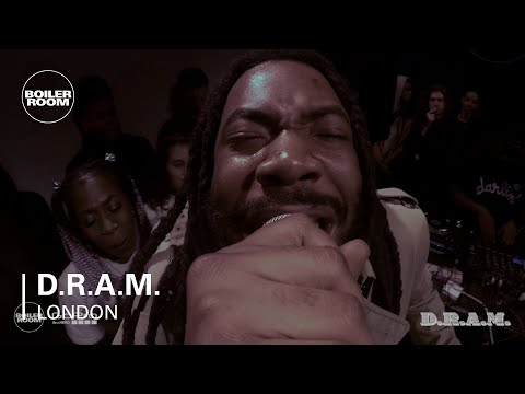 Rap: D.R.A.M. Boiler Room x GoPro London Live Set