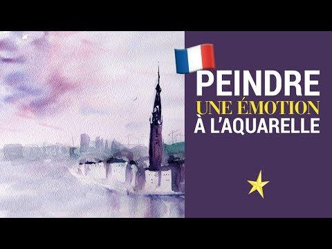 Peindre une émotion à l'aquarelle - VERSION FRANÇAISE