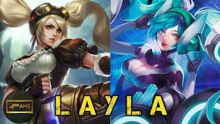 Download KISAH LAYLA HERO DARI MOBILE LEGENDS