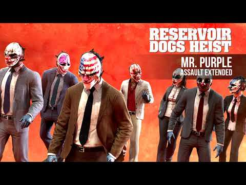 Payday 2 - Mr Purple (Assault Extended)