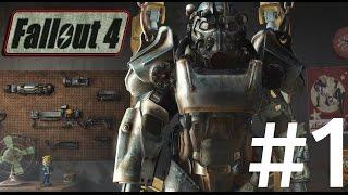 Fallout 4 (Xbox One) - 1080p HD Walkthrough Part 1 - The Great War